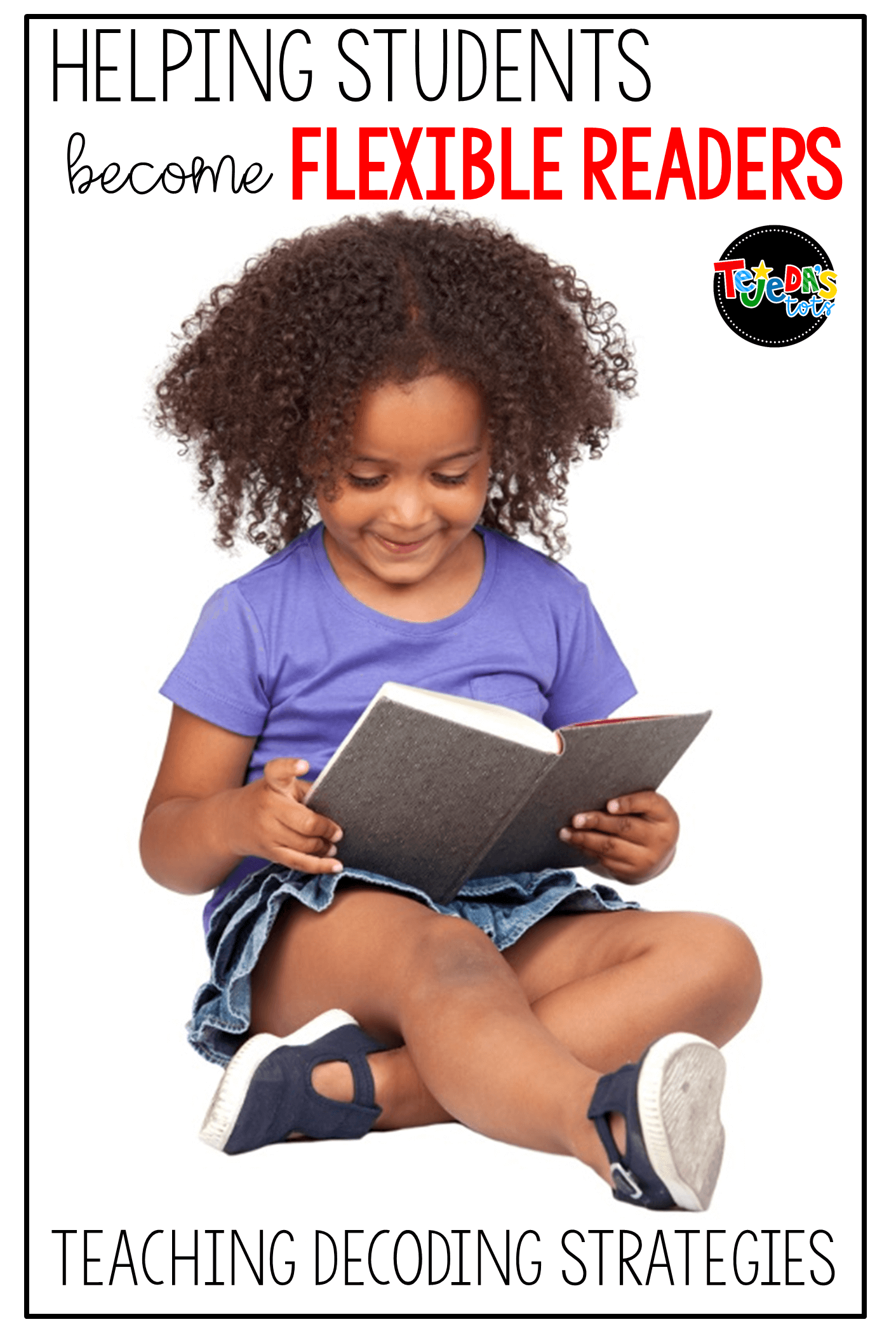 Teaching decoding strategies to beginning readers can be tricky. Read this blog post for tips on helping your kids become independent readers, using many different strategies when they get stuck on a word. #tejedastots