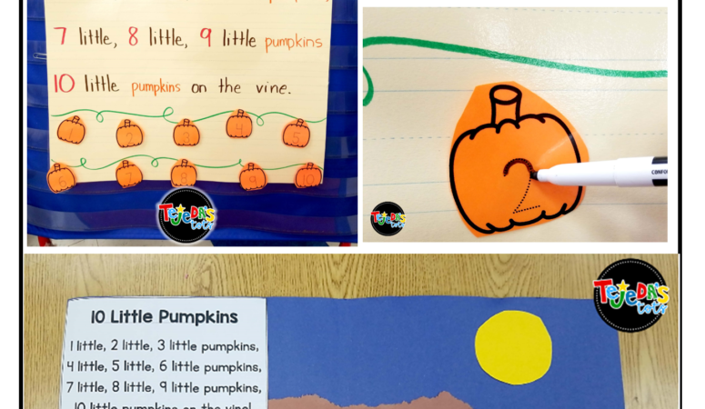 Poem, Craft, and Jokes for some Pumpkin Fun!