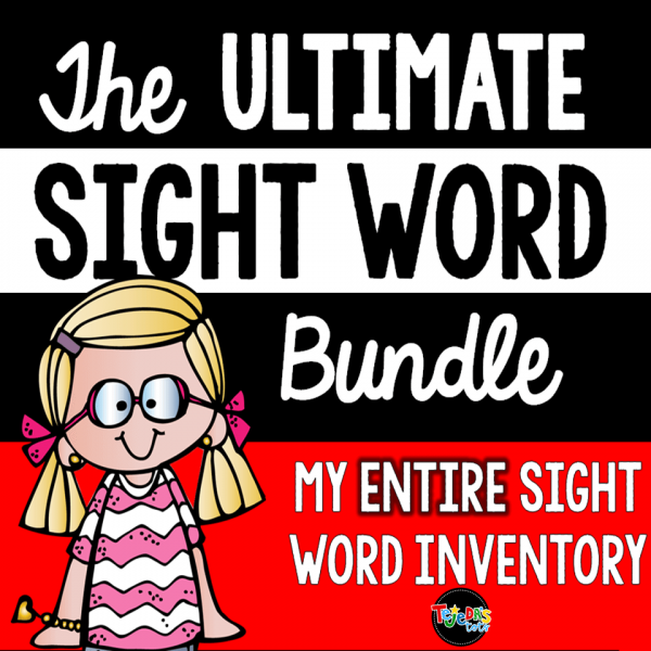 Altimate Sight Word Bundle Cover.