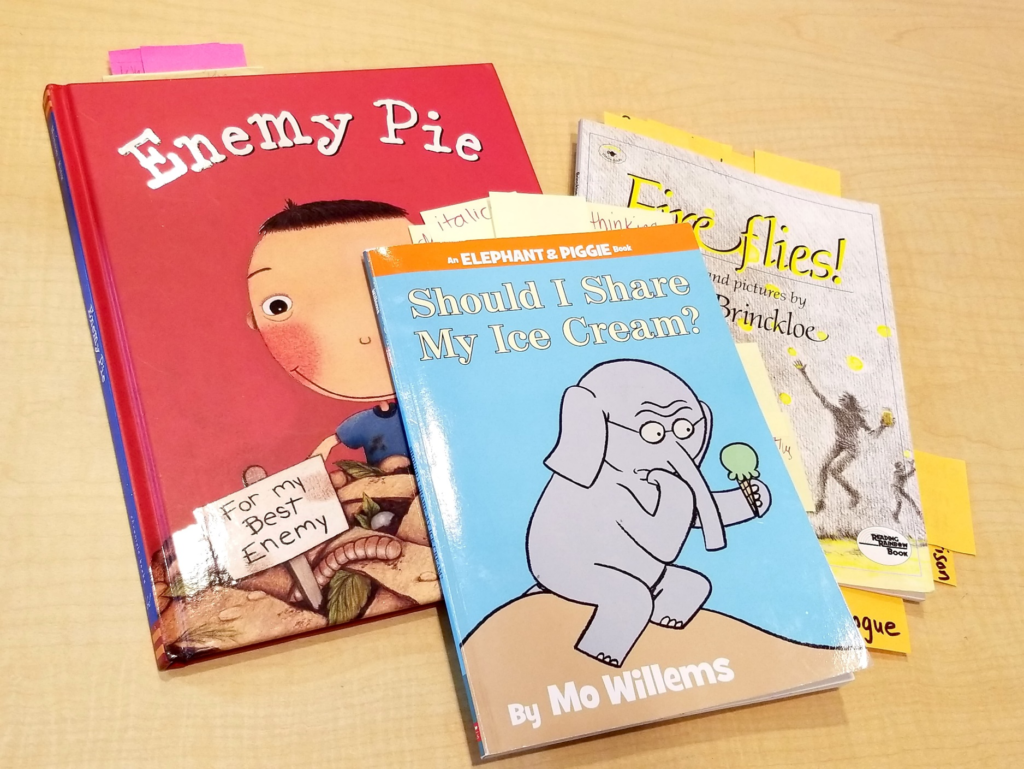Mentor texts are such a terrific tool for the writing workshop! Kids love to emulate their favorite authors and the books provide solid examples of good writing. These are some of my favorite mentor texts for kindergarten and first grade.