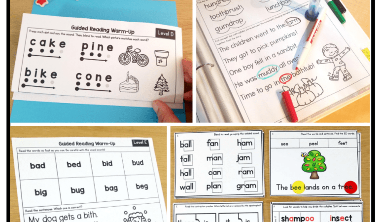 How to Use Guided Reading Warm-ups