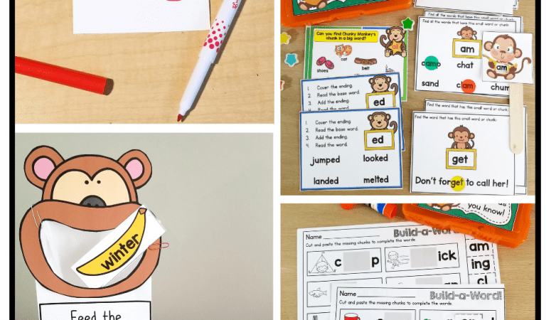 How to Teach the Chunky Monkey Reading Strategy