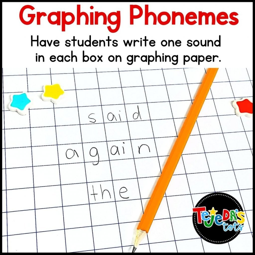 We love learning new sight words and since most high-frequency words are phonetic, phonics-based sight word practice just makes sense. One activity is graphing the phonemes, or sounds, in words. Place the letters that make up each sound in one box! Read more ideas to help boost your kindergarten and first-grade students' sight word bank. Activities for small-group instruction as well as centers!