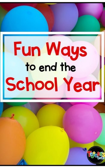 It's almost the end of the school year! The end-of-year can be super busy, but we always find ways to make it fun with these activities. Here are 3 ideas to help your students wrap up the year in a memorable way. These activities will keep your students engaged until the very last day! Includes a free end-of-year slideshow template and ideas for a memory book, theme days, and balloon pop.