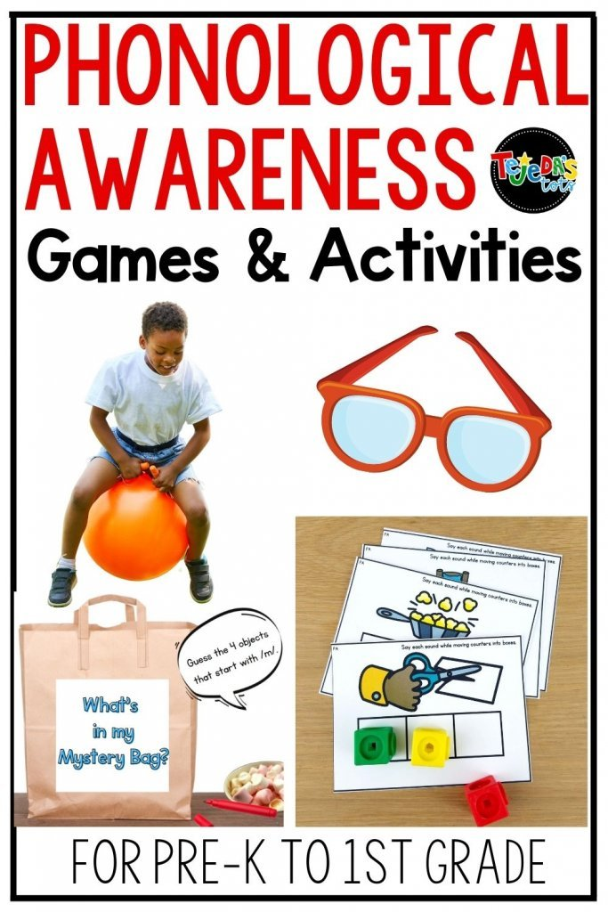 Phonological and phonemic awareness are essential skills for reading and writing. Read ideas to engage your kindergarten and first-grade students with fun games and activities that develop these skills. From rhyming to blending to substituting sounds and everything in between, you'll have ideas to implement in your classroom right away.