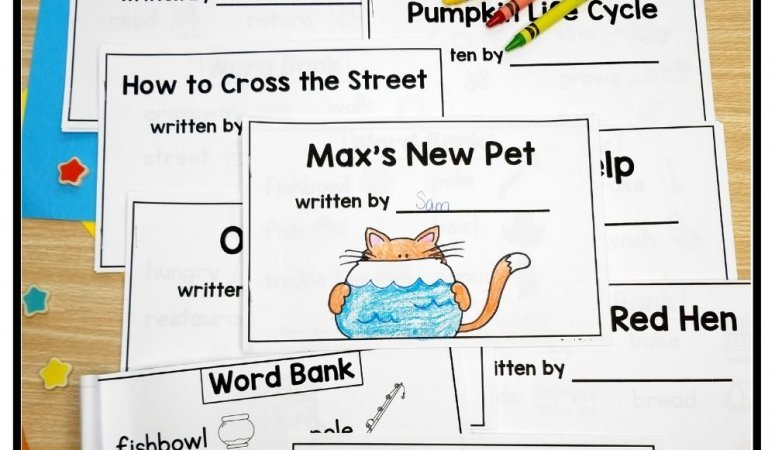 Scaffold Writing with Wordless Books to Help Beginning Writers