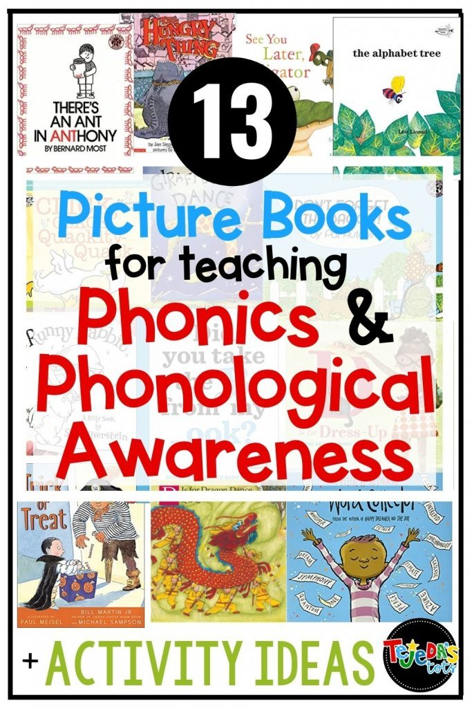 Using read-alouds to practice phonological awareness activities is a great way to motivate your little learners while exposing them to lots of important skills. Here are some great picture books for teaching phonological awareness and phonics in kindergarten and first grade.