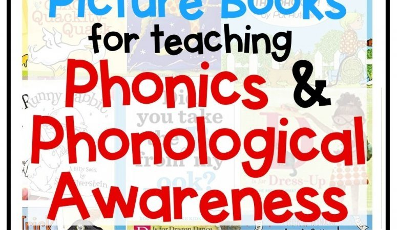 13 Picture Books for Teaching Phonological Awareness and Phonics